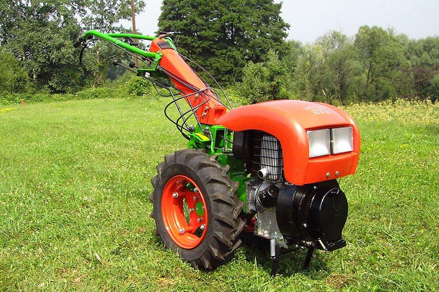 Tweewielige tractoren