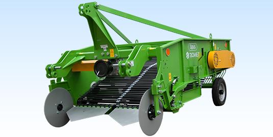 Bomet aardappelrooimachine 2 rijen Z656