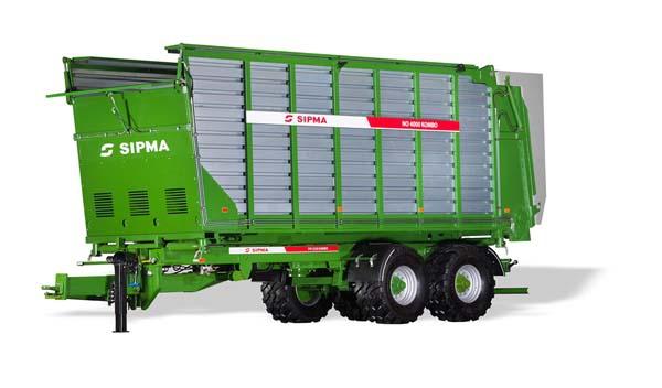 Sipma NO4000 Kombo silage wagen