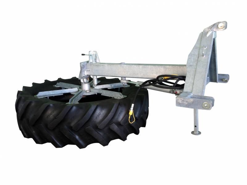 HS Voerbandveger hydraulisch verstelbaar