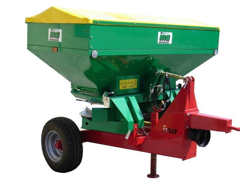 Ino Ferti-2 1000 Hydraulisch met trailer