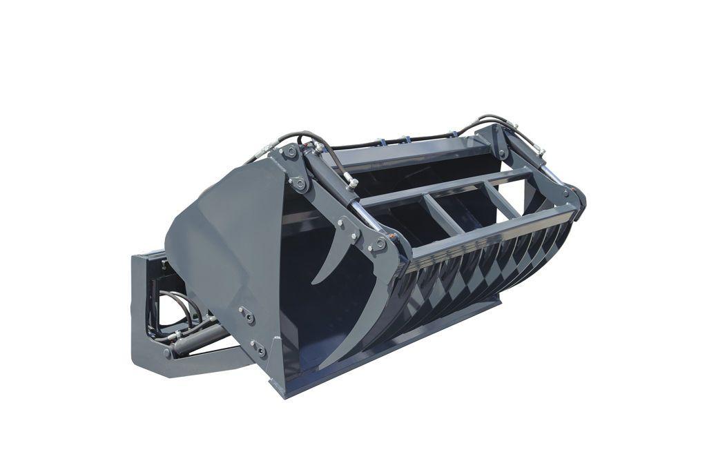 Zettelmeyer Hoogkiepbak MAXI 2.50 met hydraulische klemm