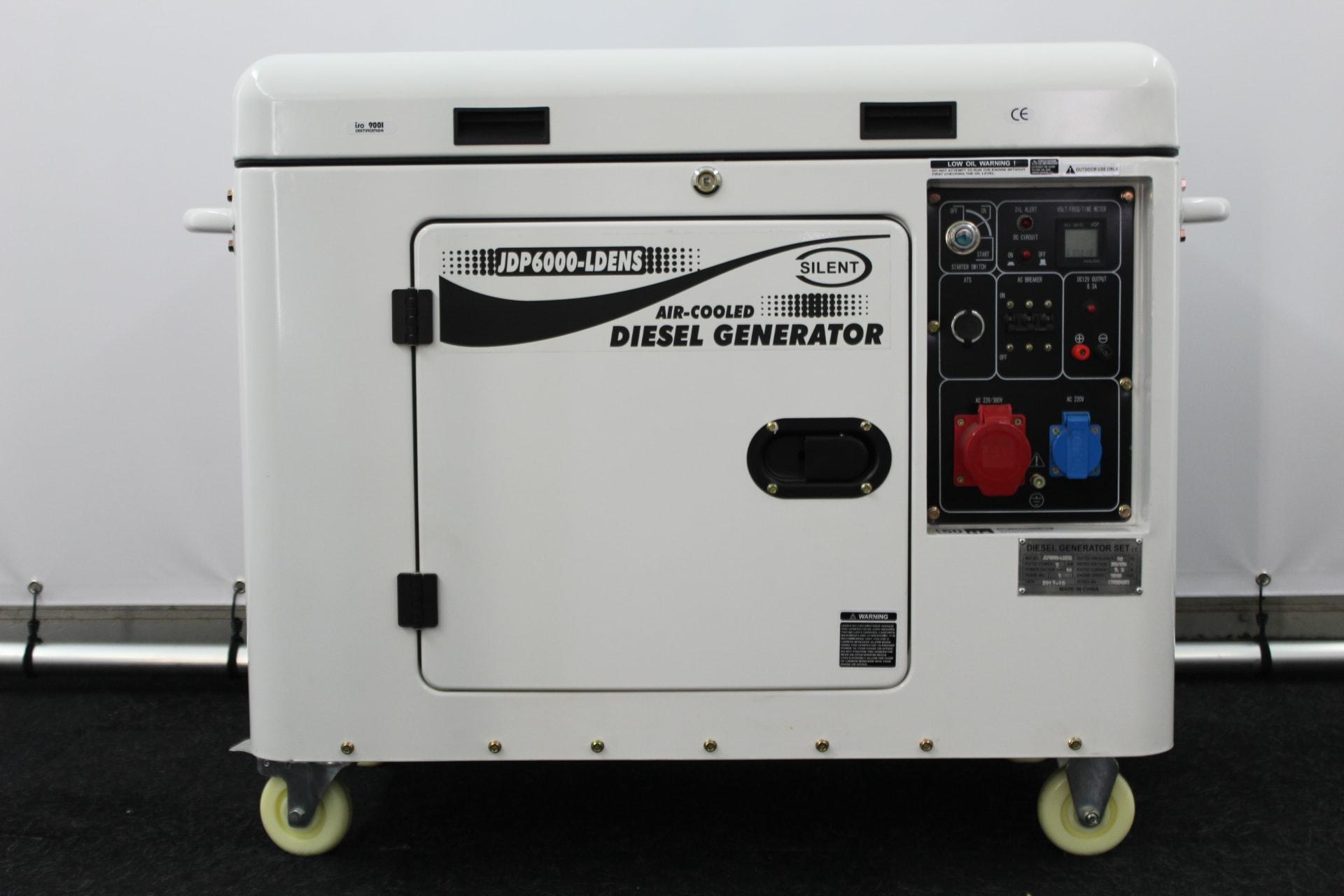 JDP Diesel aggregaat 6000