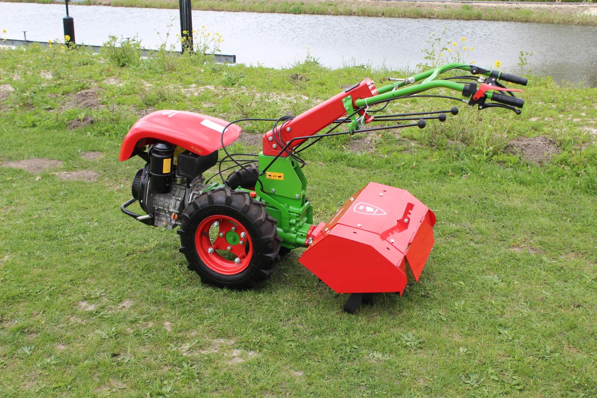 FPM Tweewiel Tractor 408 KM178F Kipor 5.00