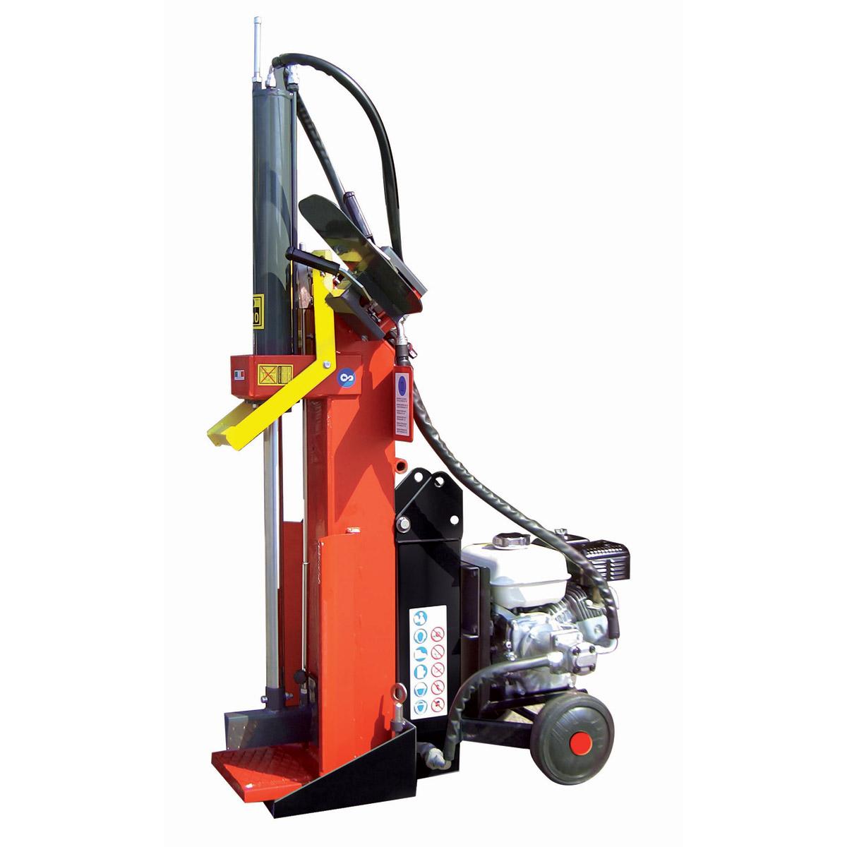 Ceccato houtklover 10t - benzine