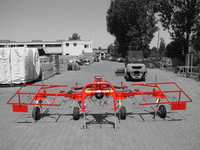 Kraffter Cirkelschudder JM 4.4m 4 rotors