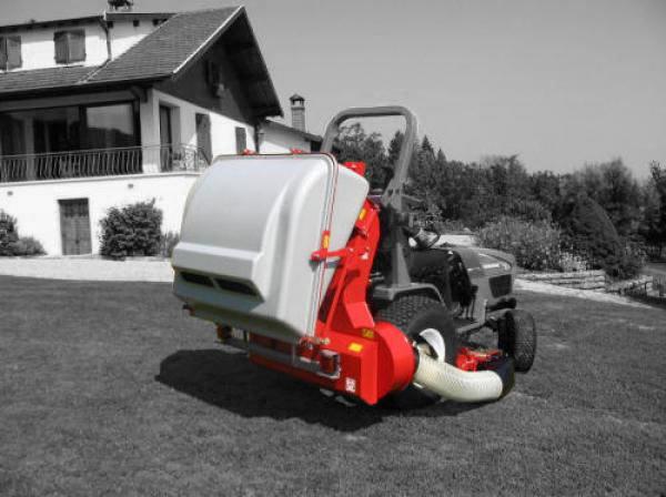 Morgnieux Turbo 530 LD grasopvangsysteem