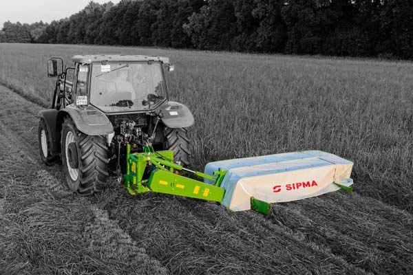 Sipma KD2410 Schijvenmaaier met kneuzer