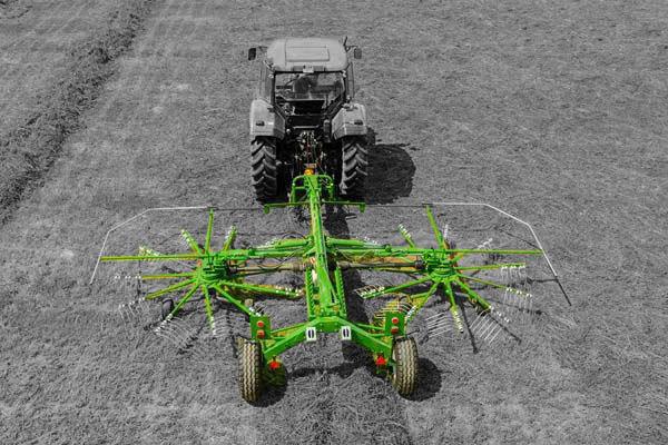 Sipma ZK650T hark dubbele rotor
