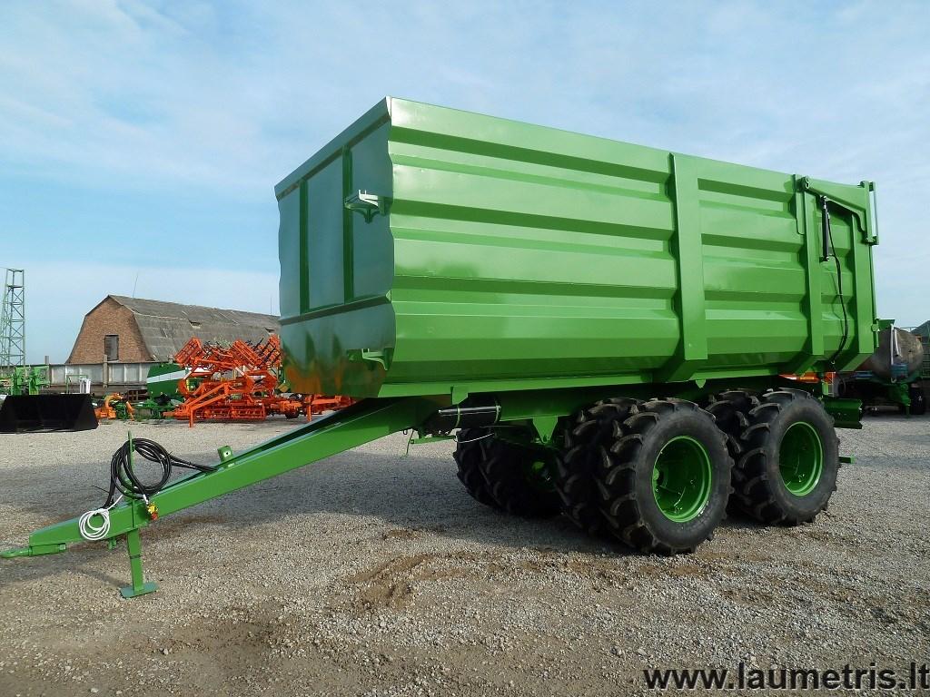 Laumetris bulkkipper 30m3
